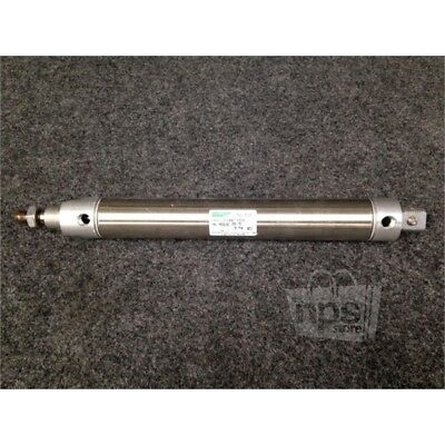 """Speedaire 5TGT5 Double Acting Air Cylinder, 7"""" Stroke, 1-1/4"""" Bore"""
