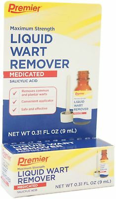 Premier Liquid Wart Remover, Maximum Strength 0.31 oz