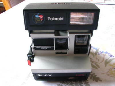 Polaroid Sun 600 LMS Instant Camera We the People Bicentennial Edition - TESTED