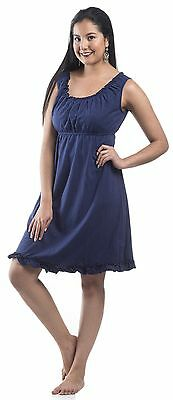 NEW WITH TAGS! Maternity Nursing Nightgown Breastfeeding Nightie Dress