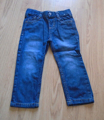 Boys Blue Straight Jeans Age 2-3 Years