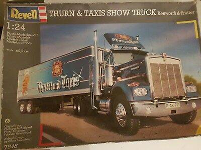 Revel Turn und Taxis Show Truck  Kenworth&Trailer  1:24 + Ford LTL 9000