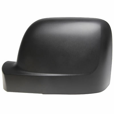 Left Passenger Side NS Door Wing Mirror Cover Black Opel Vivaro Renault Trafic