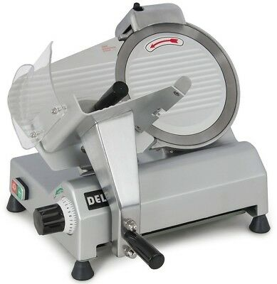 Della 10' Blade Commercial Deli Meat Cheese Food Electric Slicer