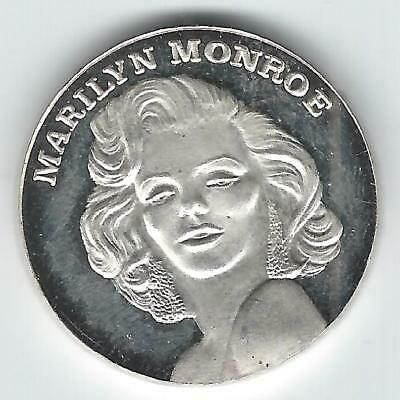 MGM Grand Marilyn Monroe Medal - .999 fine silver, approx 18 grams weight