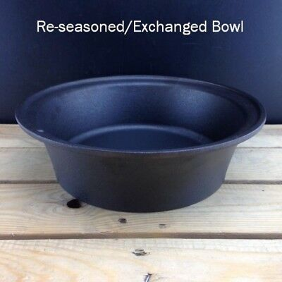 Netherton Foundry Return bowl to us for a factory re-seasoned flax oil finish