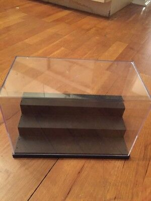 Multi-Level Display Box Clear Dust Cover Good For Displaying Figures Etc.