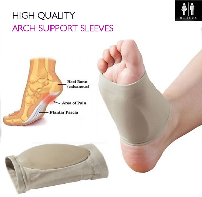 Plantar Fasciitis Heel Arch Support Pads Feet Pain Relief Foot Compression Socks