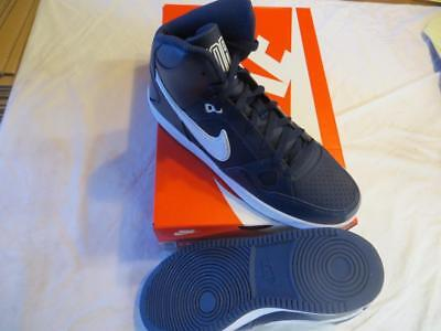 Nike Son Of Force Men's Bb Shoes Sz8.5 Midnight Navy/w  (616281 411) Ret$75  Nib