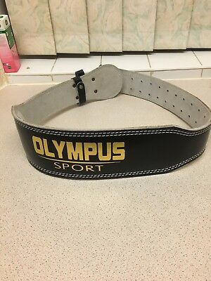 Olympus Weight Lifting Belt Used