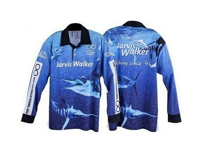 Jarvis Walker Kids Long Sleeve Tournament Fishing Shirt with Collar
