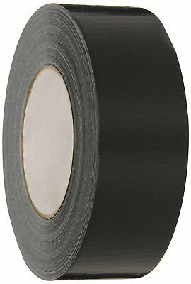 "Military 100 MPH Cloth Duct Tape 2"" x 60 Yards BLACK Brand New 8227"