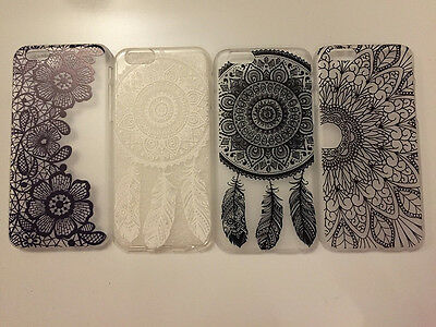 NEW Pretty Summer Henna Tattoo Design Lace Vintage Phone Case FOR iPhone 6 6S 6+