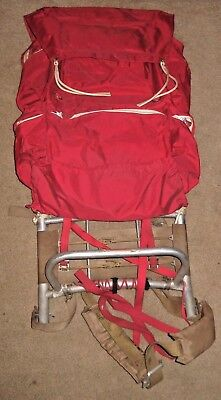 Vtg Boy Scouts Of America Large Cruiser Frame And Back Pack #1388 With Canteen