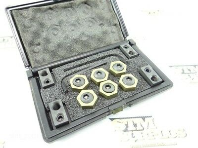 Set Of Mitee-Bite Cam Lock Milling Clamp & T-Slot Sets Mb-8 Tsn-687