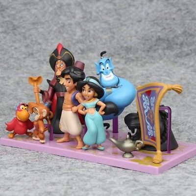 Aladdin and the magic lamp play Action Figure 8pcs/Set Toy Gift