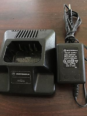 MOTOROLA HTN9702A charger base with power supply 2580955Z02