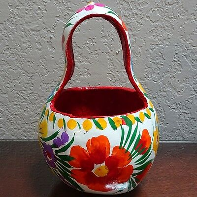 Painted gourd vase from Chiapas, Mexico