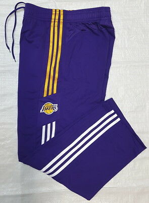 adidas NBA LA LAKERS Sport Freizeit Trainings Jogging Herren HOSE BASKETBALL