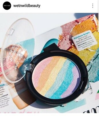 Authentic WET N WILD USA Rainbow UNICORN Highlighter NEW ❤JEFFREE STAR APPROVED❤