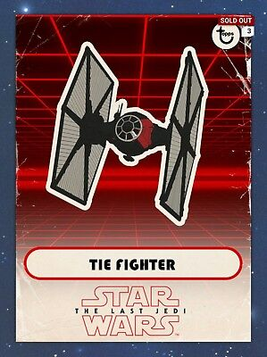 Topps Star Wars Card Trader Digital Card The Last Jedi Ships lot of 6 RED ships
