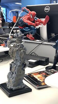 Kotobukiya Spiderman Unleashed Fine Art Statue