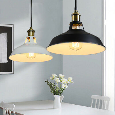 Industrial Vintage Style Barn Mini Metal Pendant Light Lamp Ceiling Lights