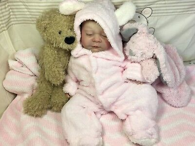 Adorable Reborn Baby Girl Sierra By Marcy's Lil' Rascal's