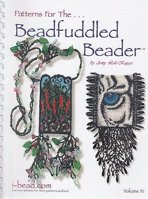 SALE - Patterns for the Beadfuddled Beader 4 - beading pattern book