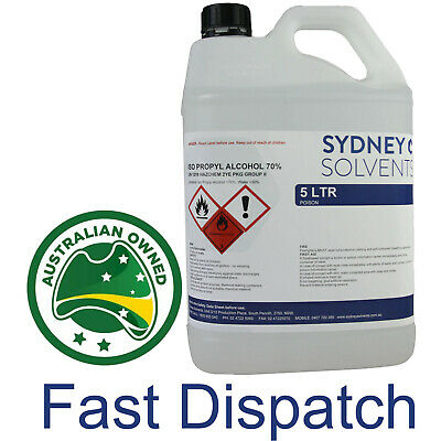 IsoPropyl Alcohol 70% 70 Rubbing Alcohol All Purpose Cleaner Isopropanol 5 Litre