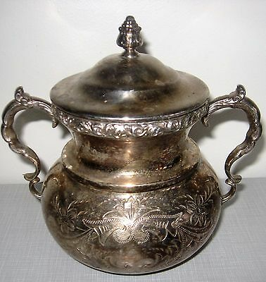 "American Silver Plate Co. Small vase about 5"" high"
