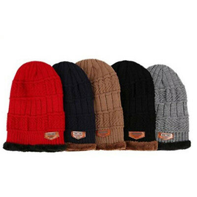 6ea98e5a062 Unisex Women Men 2 in 1 Soft Warm Thick Cable Knitted Hat Scarf and Winter  Set