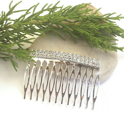Horse & Western Jewellery Jewelry Hair Accessories Crystal Hair Comb Silver