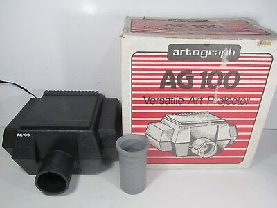 Artograph AG100 Artist Opaque Tracing Art Light Projector with Original box