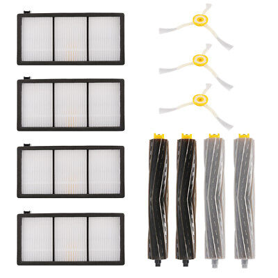 Side Brush Extractor HEPA Filter Replacement Kit Set for iRobot Roomba 800 880