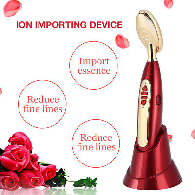 Electric Ion Vibration Eye Face Massager Anti-Ageing Wrinkle Lifting Device es