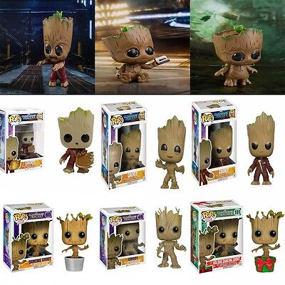 New Funko POP Marvel Guardians of the Galaxy Groot Doll PVC Figures Toy Gift UK