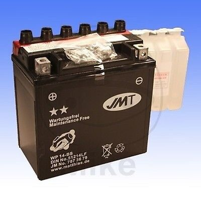 JMT Batterie wartungsfrei YTX14-BS Cagiva Canyon 600 1996-1997