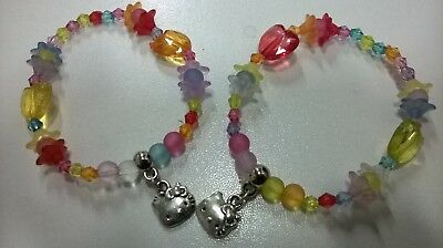 Hello kitty 2 bracelets for children, girls party bags, gift U.K. seller