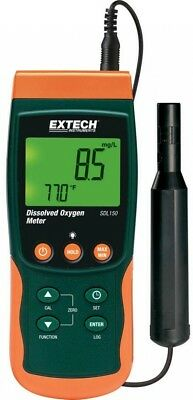 Meter SD Logger Dissolved Oxygen Backlit Data Hold Log Record Temperature New