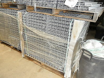 48 X 46 pallet racking grates ONE PALLET  40 PEICES Pallet Rack Shelf Decking