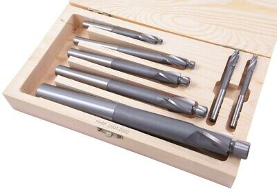 7 Piece High Speed Steel 3 Flute Solid Pilot Counterbore Set (2007-0002)