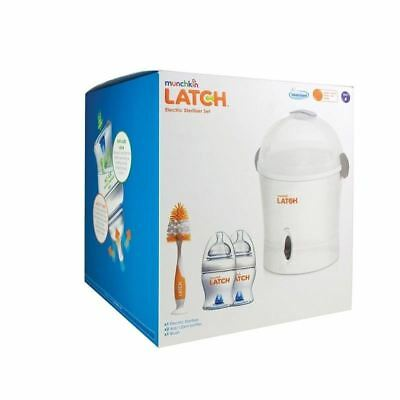 Munchkin Latch Electric Steriliser Starter Set 1 2 3 6 12 Packs