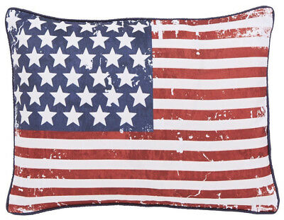 Catherine Lansfield New York Stars and Stripes Filled Cushion