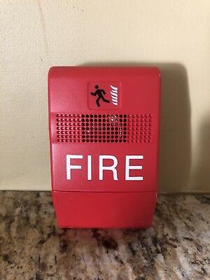 Edwards Genesis - Fire Alarm - Chime - chime only - 24VDC - RED NEW.