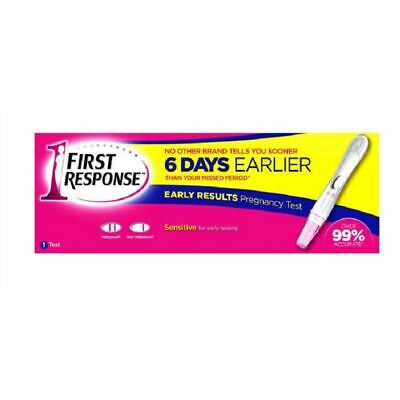 First Response Early Result Pregnancy Test  1 2 3 6 12 Packs