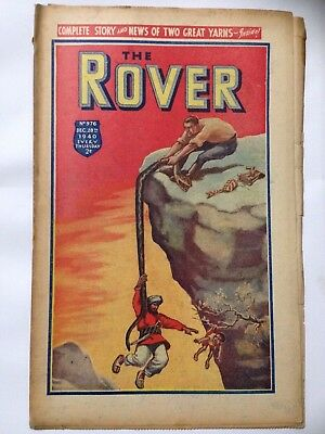 DC Thompson. THE ROVER Wartime Comic December 28th 1940 Issue 976.