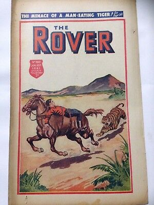 DC Thompson. THE ROVER Wartime Comic. January 25th 1941 Issue 980.