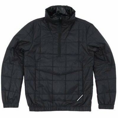 d6c96257d69b33 NWT Nike NSW Pinnacle Quilted Anorak Made in Italy NikeLab Dark Obsidian  £500