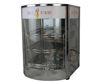 Heated Display Cabinet / Pie Warmer Hot Food Showcase Fried Chicken